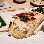 飯家 くーた - 『白甘鯛の塩焼き』様(値段無し)
