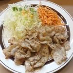 キッチンABC - 豚からし焼肉