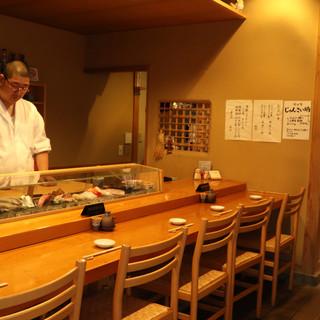 仙台の名店で磨いた腕を山形で。職人の技が活きる寿司を堪能