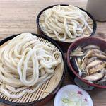 元祖田舎っぺうどん - 料理写真:きのこ汁うどん 重ね 972円