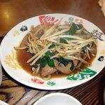 ご飯中 古町店 - レバニラ炒め