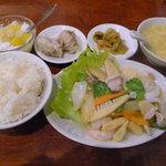 8840816 - 八宝菜(五目うま煮)のランチ