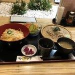 なのはな亭 - ランチかつ丼&ミニざる蕎麦&ランチサラダ
