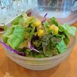 ヤミヤミカリー - セットのサラダ