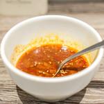 A5焼肉&手打ち冷麺 二郎 - 名物ユッケジャンスープ