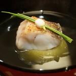 赤坂 詠月 - 甘鯛と茄子の椀
