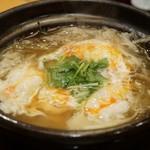 赤坂 詠月 - 鱧と牛蒡の柳川鍋