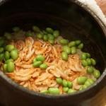 赤坂 詠月 - 桜海老と枝豆のご飯