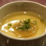 味感 ことほぎ - 海鼠腸の茶碗蒸し