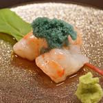 平和寿司 - 北海道産の牡丹海老
