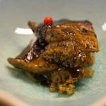 平和寿司 - 黒アワビのバター炒め