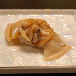 平和寿司 - 桑名のハマグリのニギリ