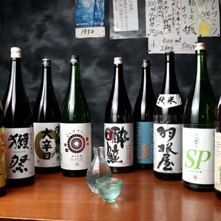 ◇種類充実◇味・質にこだわる日本酒や焼酎多数取り揃え!