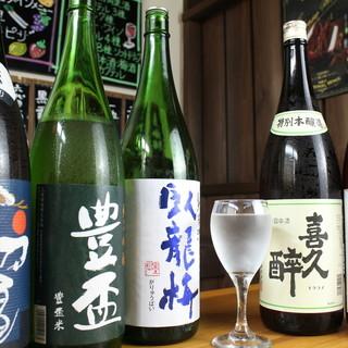 """【日本酒・焼酎・果実酒など】""""居酒屋""""ならではの美酒満載"""