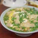 中国料理味味 - ニラワンタンラーメン