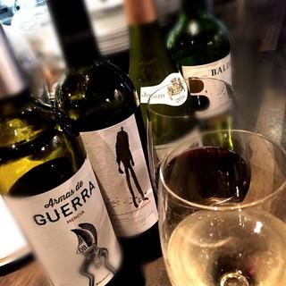 ◇定番もオススメも◇カジュアルに楽しむグラスワイン各種ご用意