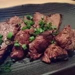 kanzekoshitsuizakayakunseikoubou - 牛ハラミの燻製    ¥780