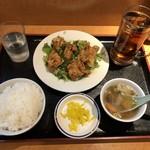 甲子園飯店 - 油淋鶏定食