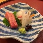 和食 入舟 - お造り✳︎鮪と鯛