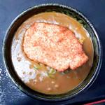 麺八 - 料理写真:チキンカツカレーうどん(カレーうどん+ササミカツ)