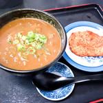 麺八 - カレーうどんとササミカツ