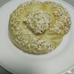 アズィーベーグル - 料理写真:バナナとアーモンドのベーグル
