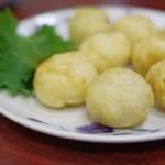 中国料理味味 - 大和芋とエビあげ