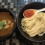 88429996 - 牛肉汁つけ麺(中盛) ¥800