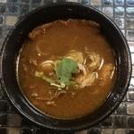88429998 - 牛肉汁つけ麺(中盛) ¥800 のつけ汁