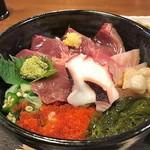 土産土法 さかな亭 - 海鮮丼ランチ