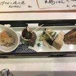 貝と炭火と日本酒 撓 - 先付け