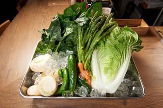 キッチンペロリ - 季節のお野菜