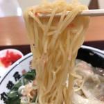 丸醤屋 - ちゅぅほそストレート麺