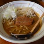 味噌ラーメン専門店 麺と人 - 角煮味噌らーめん