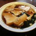 あみもと - 料理写真:チャーシュー麵