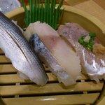 こみや寿司 - 光り物セット