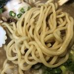たご - 濃厚にぼしそばの麺