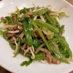中華料理 唐韻 - 青椒肉絲