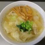 七面 - 塩ワンタン麺@900
