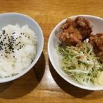 中華そば 三浦 - から揚げ定食