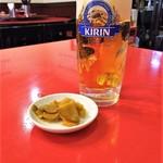 清香楼 - 生ビール&搾菜