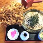 福六十  - 料理写真:かき揚げ丼セット¥1200