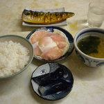塚田屋食堂 - 料理写真:今回の定食完成形