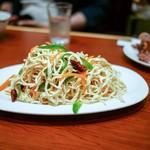 延辺館 - ☆干し豆腐の細切り和え物 450円