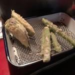 玄海 - 甘藷、茄子、アスパラ