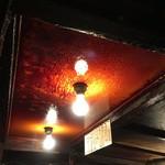 玄海 - 油煙で飴色の天板