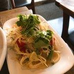 タイ国専門食堂 - パパイヤサラダ