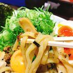 麺屋はなび - ねぎ盛り台湾まぜそば(920), DXトッピング(320)