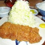 かつ亭 - ヒレかつ定食140g   ¥1350