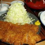 かつ亭 - チキンかつ定食230g  ¥1150